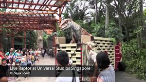 Map Universal Studios Hollywood Live Raptor At Jurassic Park Universal Studios Singapore Dejiki