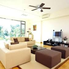 ceiling fan blade size for room ceiling fan size for living room choosing the right ceiling fan size
