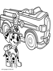 paw patrol free printable coloring pages rocky