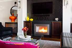 Scented Fireplace Logs by What To Do With Your Fireplace During The Summer