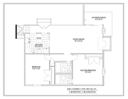 Willow Floor Plan by Floor Plans Sanctuary At Heather Ridge Apartments