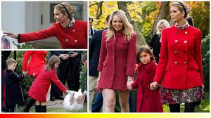 ivanka in a 3 000 dolce gabbana coat to attend the