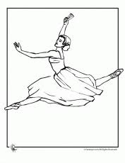 ballet coloring pages free printable coloring pages free