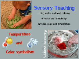 water learning for kids and babies exploring temperature u0026 color