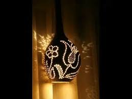artistic gourd lamps www gourdlamps com youtube