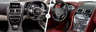 aston martin inside aston martin db11 vs db9 gt comparison carwow