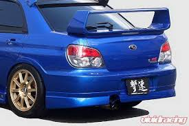 peanut eye subaru subaru impreza chargespeed peanut new eye rear skirt cs975rs
