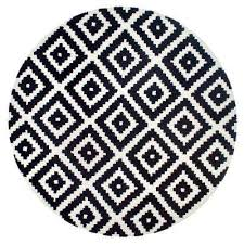 Black And Beige Rug Nuloom Round Area Rugs Rugs The Home Depot