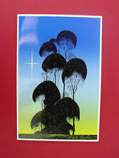 eyvind earle christmas cards prints from dealers and resellers in artist eyvind earle style