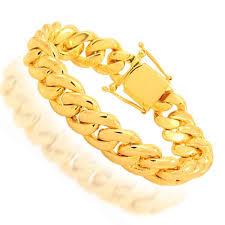 cuban gold bracelet images Cuban link bracelets cuban bracelets avianne co jpg