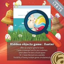 hidden objects game easter prestashop addons