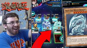 crazy new yugioh game yugioh duel links ep 1 my best deck