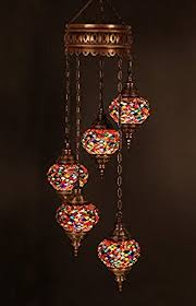 Lights Pendant Chandelier Ceiling Lights Turkish Lamps Hanging Mosaic Lights