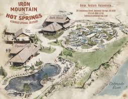 Centennial Colorado Map by Map Of Mineral Pools Iron Mountain Springs