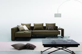 Modern Fabric Furniture by Choosing Between Leather And Fabric Modern Sofas La Furniture Blog