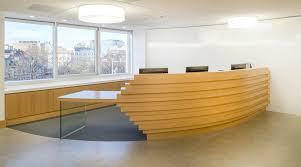 Timber Reception Desk Incredible Bespoke Reception Desk Bespoke Reception Desks