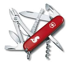Wenger Kitchen Knives Angler In Red 1 3653 72
