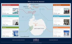 Antartica Map Antarctica Map Explore Regions And Landmarks With Swoop