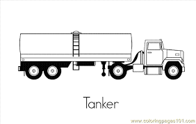 truck coloring 01 coloring free land transport