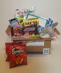 personalized cracker boxes custom gift box medium 10 items custommadegiftboxes