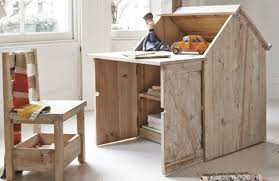 Writing Desk For Kids Beautiful Reclaimed Wood Desk For Kids Is Also A Playhouse U0026 Easel