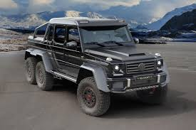 mercedes g class 6x6 g 63 amg 6x6 gets more oomph from mansory autoevolution