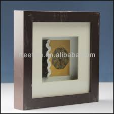china wooden 3d wall frame and shadow box import wholesale rustic