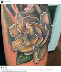 white gardenias tattoo realism tattoo ink art beautiful body