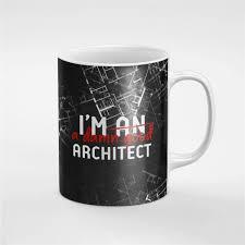 i u0027m a damn good architect black sketch profession ceramic