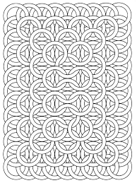 op art jean larcher 17 op art coloring pages for adults