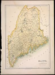map of maine viii maps of maine 1853 1860 osher map library