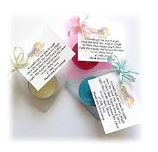 candle baby shower favors 10 x personalised baby shower scented candle favours gifts