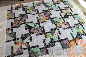 piece n quilt halloween quilt machine quilting by natalia bonner