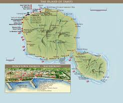 1 8 Maps Large Tahiti Island Maps For Free Download And Print High