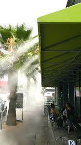 Diy Patio Mister by Restaurant Misting Systems Koolfog
