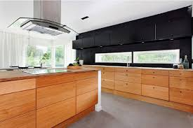 modern japanese kitchen design with big cabinet and smart concept
