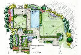 garden design drawing interior design