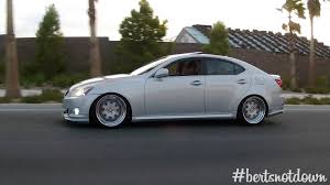 bagged lexus is350 joe u0027s daily driven bagged lexus is250 awd lowballers youtube