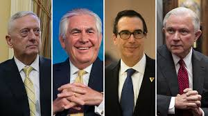 What Is A Government Cabinet How The Donald Trump Cabinet Stacks Up In 3 Charts Npr