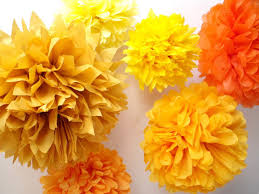 party decorations 7 poms wedding decor outdoor autumn