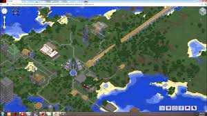 Mincraft Maps Minecraft Map Viewer Tectonicus Youtube