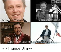 Christopher Walken Memes - the air christopher talken christopher walken ristopher toasten