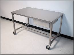 Stainless Desk Rdm Stainless Steel Table Model A109p Ss