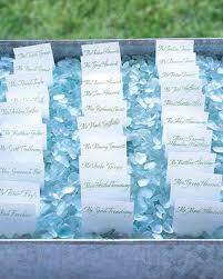 outdoor escort card displays martha stewart weddings