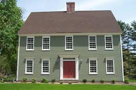 exterior paint colors for colonial style house home decor