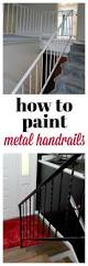 What Is A Banister On Stairs Best 25 Metal Stair Railing Ideas On Pinterest Stair Railing