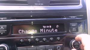 nissan versa 2014 youtube how to change clock time in nissan car odyssey versa altima