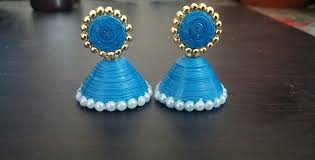 paper ear rings new quilling paper earring designs 2016 quilling designs