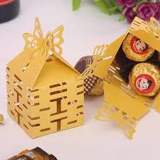 wedding candy boxes wholesale free shipping 50 pcs decoupage wedding favor boxes