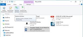 simple questions recycle bin windows digital